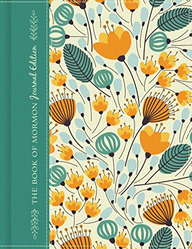 The Book of Mormon, Journal Edition Floral