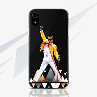 WolfCase Freddie Mercury Music Queen Case Cell Phone Silicone Plastic Case for Apple iPhone X / 10/8 / 7 / plus iPhone 6 / 6S plus iPhone 4 / 4S iPhone 5 / 5S / 5C / SE Protective Cover RA1465