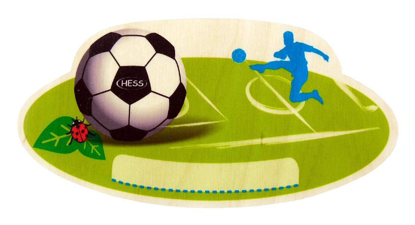 勧める保険をかける愛されし者Hess 木製サッカーネームプレート 赤ちゃん用おもちゃ