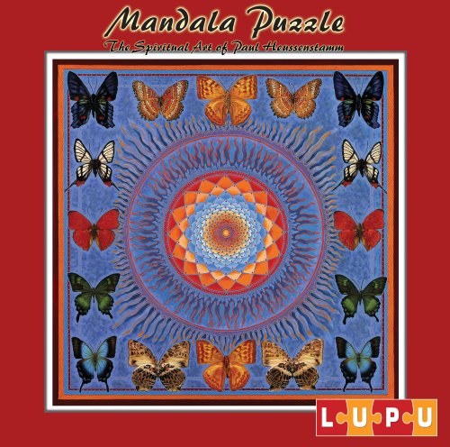 Lupu 1033 - Mandala Puzzle Schmetterlinge