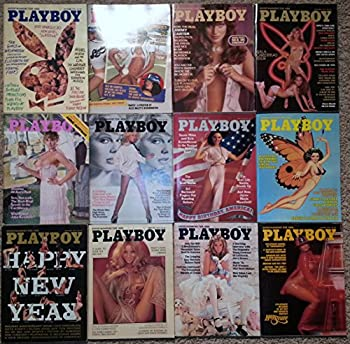 All 12 Issues of Playboy Magazines for the Year 1976 From January 1976 to December 1976