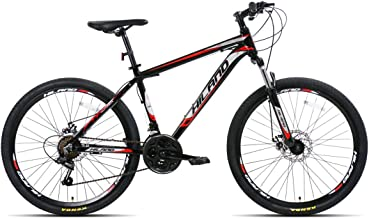 Hiland 26'' Mountain Bike with Disc Brake, 17'' Aluminum Frame,21 Speeds,Multiple Colors