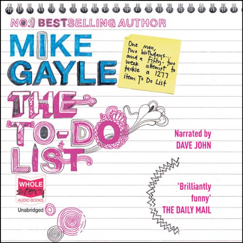 The To Do List audiobook cover art