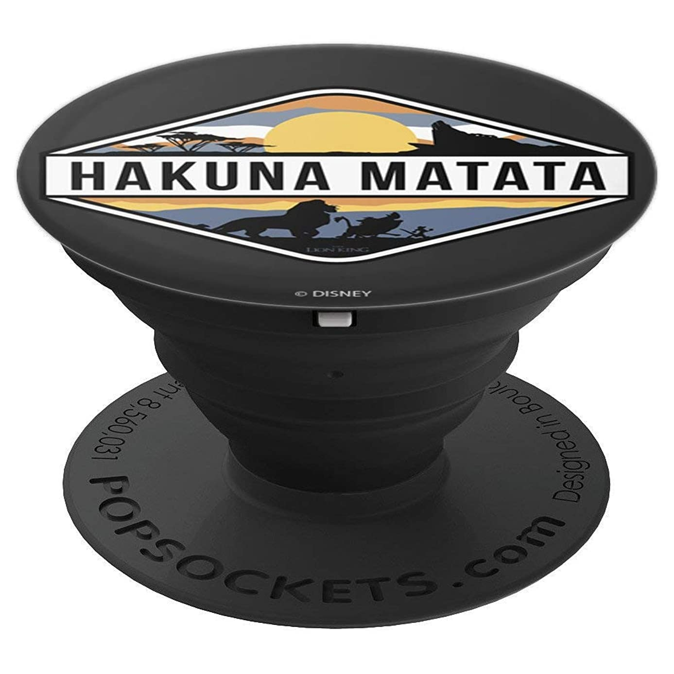 Disney The Lion King Hakuna Matata Pride Land Simba And Crew - PopSockets Grip and Stand for Phones and Tablets