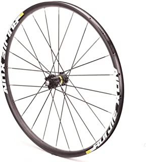 GXFWJD フロント自転車ホイール700c ロードバイクダブルウォールリム 合金ハブ ディスクブレーキ QR 24H 745g にとって 23-38cタイヤ