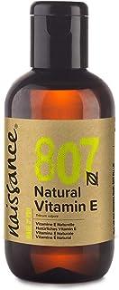 Naissance Vitamin E Oil (no.807) 100ml - Natural, Vegan,