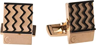 Diamond Moon Stainless Steel Cufflinks for Men, Stainless Steel - 1800541240438