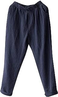 Best linen loose pants Reviews