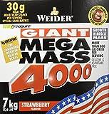 Weider Mega Mass 4000 Fresa - 7000 gr