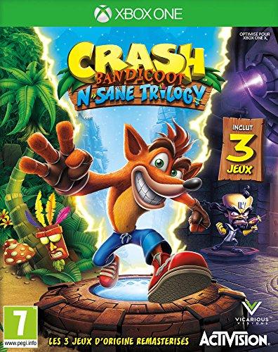 Crash Bandicoot N.Sane Trilogy - Xbox One [Importación francesa]