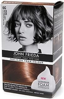 John Frieda Precision Foam Colour Brilliant Brunette (Light Golden Brown) 6G 1 Each (Pack of 3)