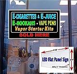 24' x 48' LED flat panel Light box Sign - E Cig, E Juice, E Hookah,Vape Pens, Starter kits