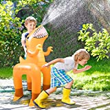 Dinosaur Toys for Kids 3-5, Sprinkler Water Toys for Age 2-4 Pool Accessories Outdoor Yard Backyard games for 3 4 5 6 7 years old Boys Girls Children