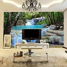 Custom Photo 3D Wallpaper Bedroom Living Room Sofa Tv Background 3D Wallpaper Non-Woven 3D Wallpaper Nature Landscape,350x245cm