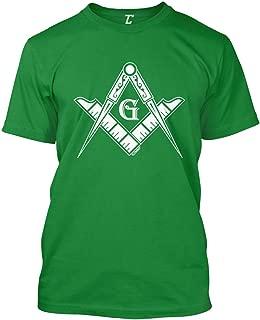 Freemason Logo - Illuminati Square & Compass Men's T-Shirt