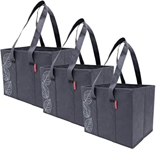 Planet E Reusable Grocery Shopping Bags Large Collapsible Boxes With Reinforced Bottoms..