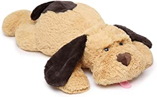 MaoGoLan Giant Stuffed Puppy Dog Big Plush Extra Large Stuffed Animals Soft Plush Dog Pillow Big Plush Toy for Girls Kids 31 inch