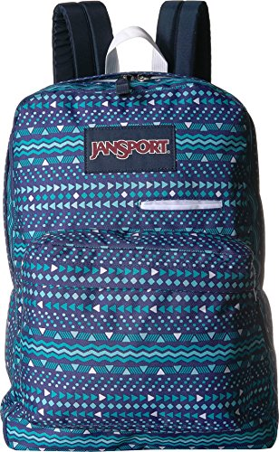 JanSport Digibreak Laptop Backpack-Tribal Wave Tonal