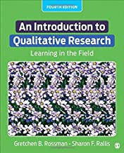 An Introduction to Qualitative Research: Learning in the Field
