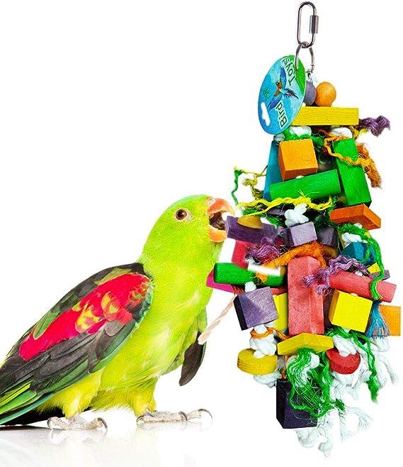 Wesco Bird Kabob Yucca Parrot Chips Bird Toy Parts