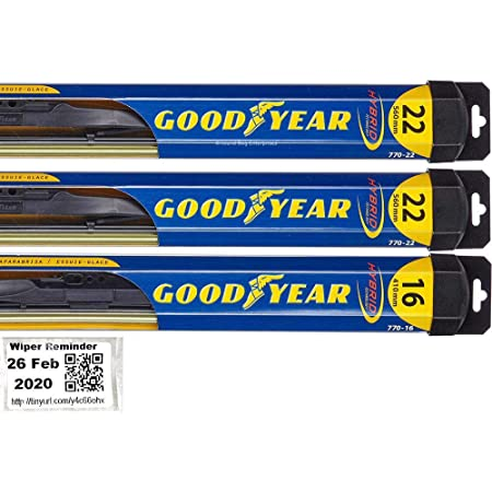 AUTOLMX Front Windshield Wiper Blades for 2000-2018 Chevy Suburban /& 2000-2018 Chevy Tahoe 22 Set