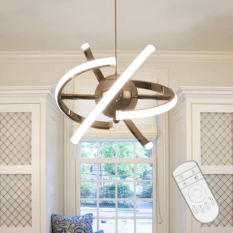 NAIZY 32W LED Pendelleuchte Acryl Hnge Lampe Schlafzimmer, Modern ...