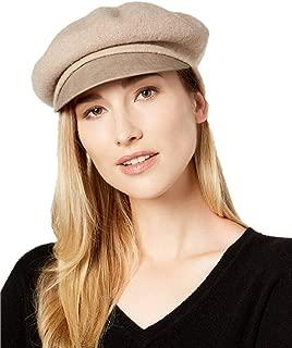 Women's Felt Floppy Hat with Metal Tube