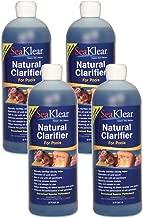 4 Pack- SeaKlear Natural Clarifier for Pools, qt 32oz./946ml. 90402