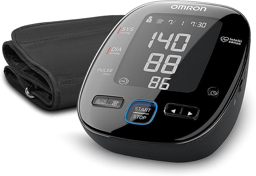 Omron mit5s connect misuratore di pressione da braccio, connessione bluetooth HEM-7280T