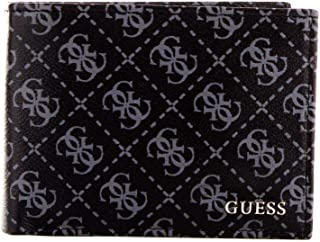 Luxury Fashion | Guess Mens SM2612LEA20NERO Black Wallet | Fall Winter 19
