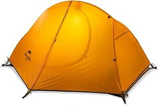 Naturehike公式ショップ テント 1人用 アウトドア 自立式 二重層 4シーズン サイクリング 自転車旅行 超軽量 防水PU3000以上 キャンピング 登山