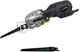 Reciprocating Saw, GALAX PRO Compact Saber Saw 5 Amp Mini Reciprocating Saw Extra Long 6.6ft Cable, Max. Cutting Capacity 4½