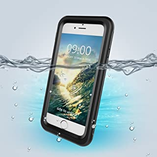iPazzPort iPhone 7 Plus/8 Plus Waterproof Case, Underwater Full Sealed Cover Snowproof Shockproof Dirt proof Waterproof Ca...