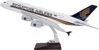 TANG DYNASTY 47CM シンガポール航空 Singapore Airlines エアバス A380 高品質樹脂飛行機プレーン模型 おもちゃ