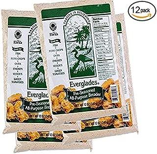 Everglades Seasoning All Purpose Pre-Seasoned Breader 12 oz (Case of 12)