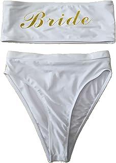 shifeier Bride قطعة واحدة بدلة سباحة للنساء ملابس سباحة عالية قطع بدلة سباحة مثيرة بدلة سباحة مونوكيني ملابس الشاطئ لحفلات...