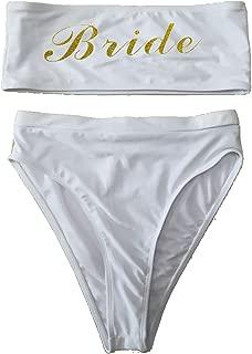 shifeier Bride One Piece Swimsuit Women Swimwear High Cut Bathing Suit Sexy Bodysuit Monokini Beach Wear Wedding Party