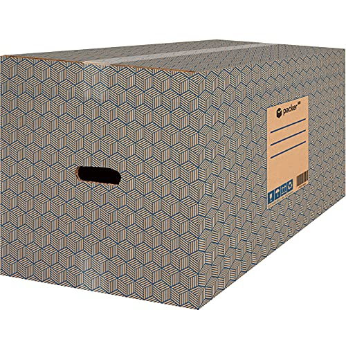 packer PRO Pack 10 Cajas Carton para Mudanzas y Almacenaje