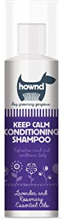 hownd Keep Calm Conditioning Dog Shampoo 8.5 oz All-Natural with Lavender and Rosemary Essential Oils