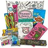Heavenly Sweets Vegane Süßigkeiten- & Pralinen-Geschenkbox - Auswahl an süßen Leckereien & Pralinen aus den UK - Geschenke für Weihnachten, Geburtstag, Valentinstag - 12 Stk., coole...