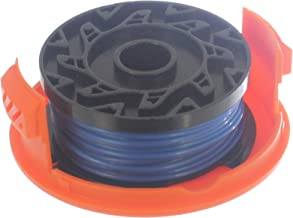 Spares2go 10m x 1.5mm Spool Line and Cover for Black and Decker Strimmer Trimmer