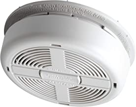 BRK 670MBX Ionisation Smoke Alarm, Mains Powered with 9 V Battery Backup