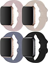 RUOQINI 4 Pack Compatible with Apple Watch Band 38mm...