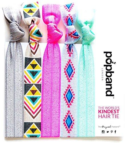 Popband Tribal - Paquet de 5 Élastiques à Cheveux Popbands