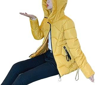 Women's Outdoor Hooded Slim Zipper Front Thick Winter Down Coat