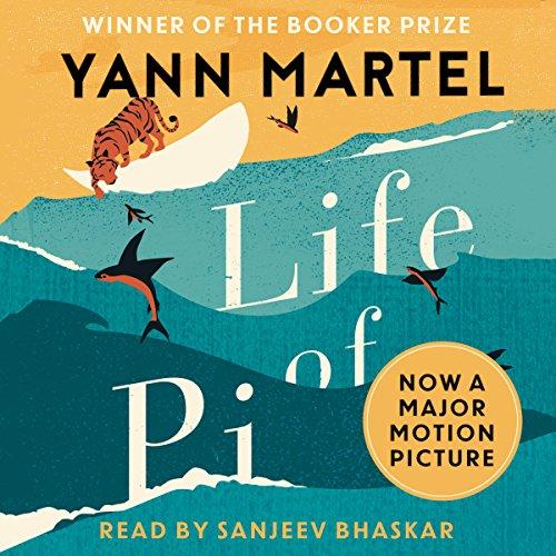 Life of Pi audiobook cover art