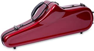 Crossrock Tenor Saxophone Case Fiberglass Hardshell with Backpack Straps (CRF1000TSRE)