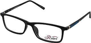 RETRO Unisex-adult Spectacle Frames Rectangular 5202 S.Black/Blue