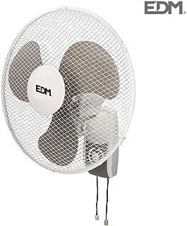 Ventilador de pared 45W 40cm 3 velocidades EDM 33915