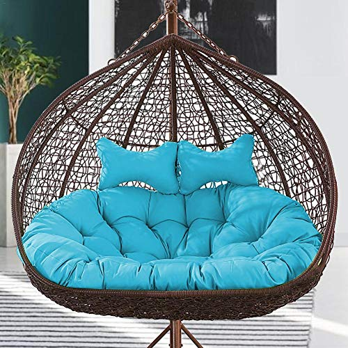Pearl Cotton Egg Hanging Chair Cushion Swing Chair Cushion, 9 Styles, Pearl Cotton Filling, For Terrace Hammock (cushion Only)